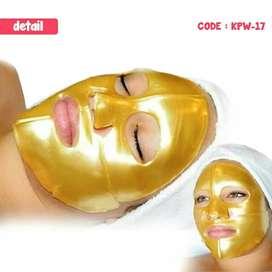 Masker topeng masker muka masker collagen gold