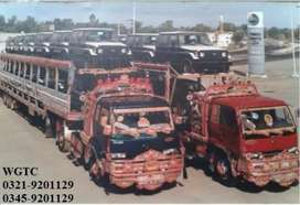 WGTC low freight car carrier services in all Pakistan