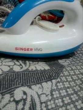 Singer iron