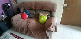 Home town brand Recliners sofa