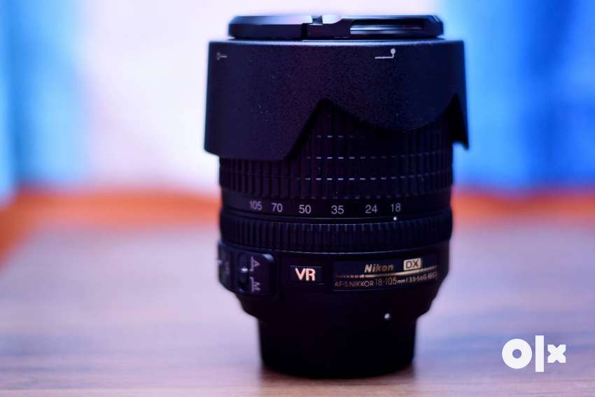Nikon 18-105mm VR(3.5-5.6G ED)Lens(1.5year old) in a perfect condition 0