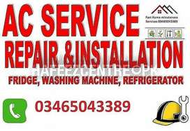 AC service AC gas fillings Automatic washing machines repair service