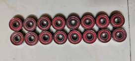 Original Red Racing Series BSB Swiss Gold Bearings size 627