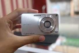 Kamera Sony CyberShot Dsc silver
