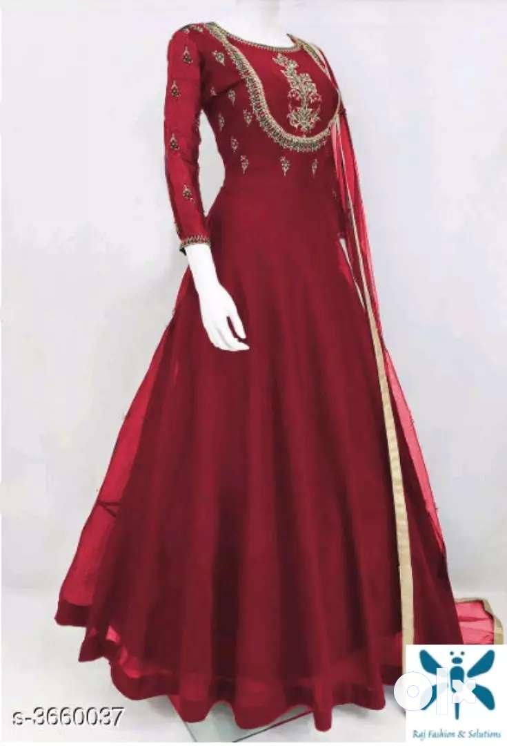 Designer Semi Stitched Suits & Dress Materials 0