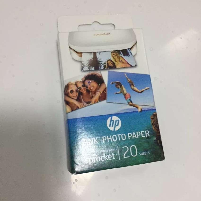 20 sheets Sprocket original photographic paper pocket photo printer zi 0