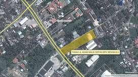 TANAH ±4.421m2 UNTUK HOTEL - KANTOR DI TENGAH KOTA BENGKULU