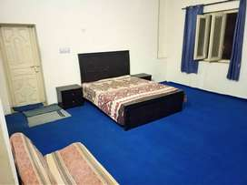 Furnished One Two (1+2) Rooms Ichhra.Bath Kitchen terrace. near Alflah