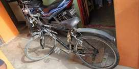 Hero sprint lessly used for sale black color good condition