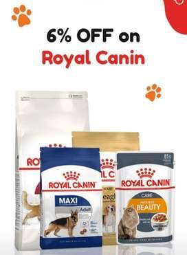 Pedigree and Royal canin