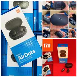 Free Home Delivery-Mi Airdots Earbuds Bluetooth Headset Pure Bass, COD