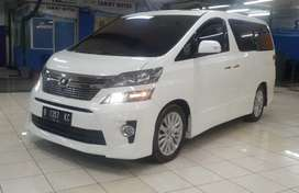 Toyota Vellfire ZG Premium Sound 2013 AT B'GARANSI 1 THN B'SERTIFIKAT