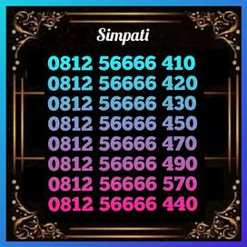 Nomor cantik Telkomsel 6666