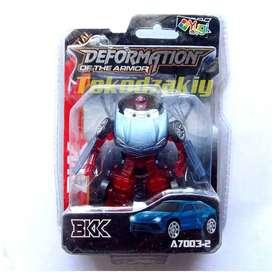 Mainan Robot Tobot Transformer Metal Diecast