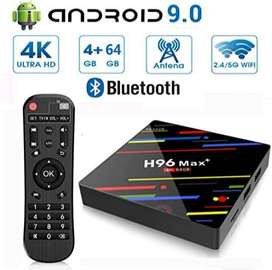 4GB ram 64GB rom H96MAX+ smart android tv box