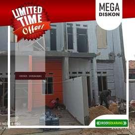 Dijual rumah 2 lantai di Jagakarsa promo akhir tahun cuma 560 juta