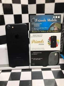 I phone 7 32 gb matt black (fixx price)