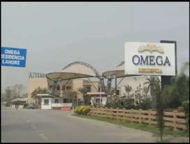 Omega residencia 5 Marla plot for sell argent secter C .
