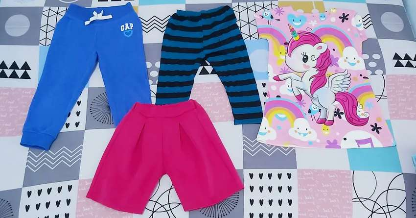 Celana dan dress anak second