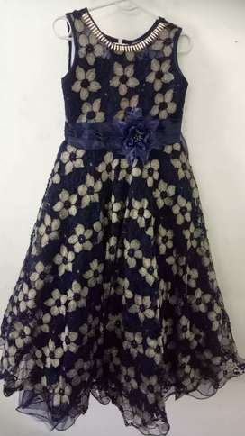Girl Royal Blue Gown