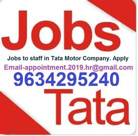 Jobs in tata motors Whats app number- 96342,95240 only whats app