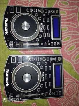 Numark ..ndx400 ..usb &cd dj pleyar .3years old