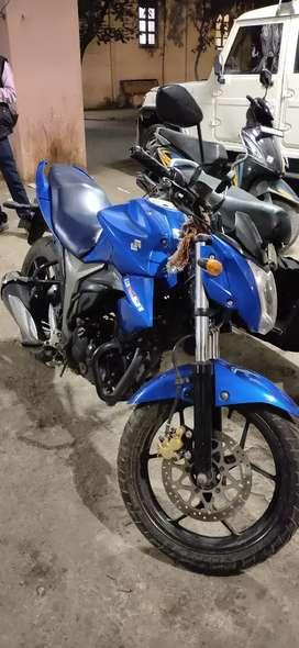 Suzuki gixxer for sell , company condition,