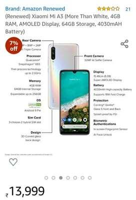 MiA3 phone