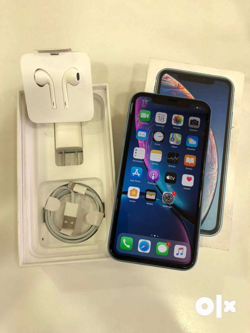 iPhone XR 64GB BLUE 12 MONTHS WARRANTY (EXTENDED) 0