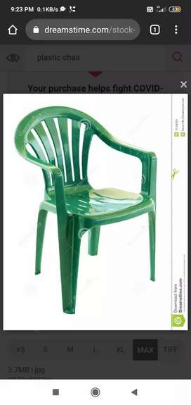 I wanna sell my 40 brown colour plastic chairs super quality