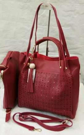 Big Size Shoulder Bag with Inside pouch