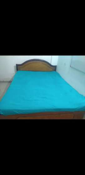 Double bed diwan with mattress