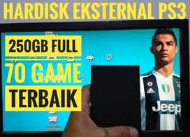 HDD 250GB Terjangkau Murah FULL 70 GAME PS3 KEKINIAN Siap Dikirim