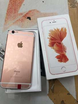 New Iphone 6s 64gb with bill 6 monthe sellers warranty