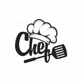 Chef for baking pizza
