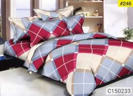 Glace cotton double bedsheets