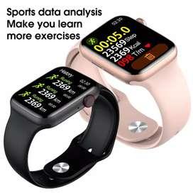 "Iwo 15 W26 Smartwatch Seri 6 Layar Sentuh 1.75 "" Tahan Air Ip68"
