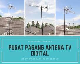 Pasang Baru Antena Tv Analog Dan Digital Jonggol