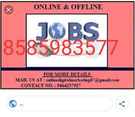 Don't find jobs we are offering you home based job no qualification