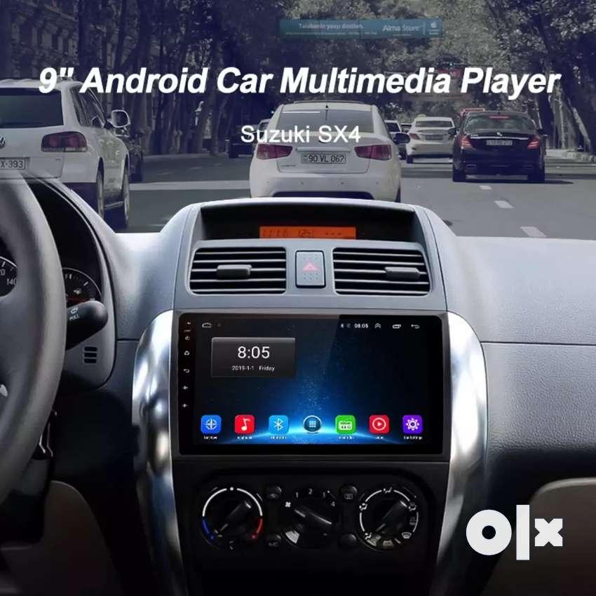 Car suzuki sx4 alto celerio swift ciaz s cross stereo android 9inch 0
