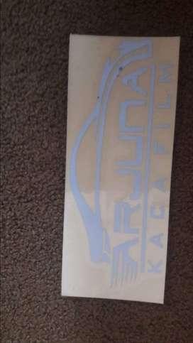 pusat sticker cutting logo stiker nyala scotlite tulisan kaca film