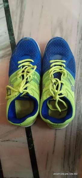 Sparx Men's Blue Green Sneakers -6UK