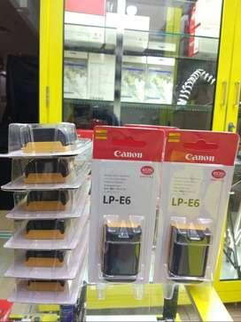 *Baterai Canon LP-E6 /~ Baterai LP-E8 utk Canon 550d, 600d 650d, 700d