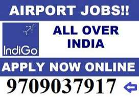 Airlines Hiring- Airport Job- Male / Female Fresher to Experience