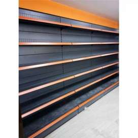 We are dealing in super market racks, trolley, basket,cash counter