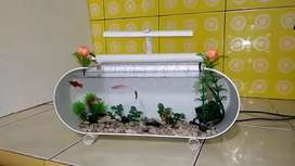 Aquarium mini air terjun