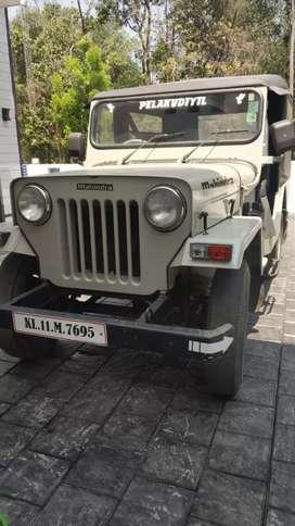 Mahindra jeep 2wd well maintained