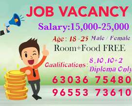 Wanted telecaller  and office management