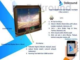 Pusat GROSIR Smart Watch DZIKROUND Jam dinding Digital Adzan + 30juz