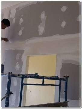 Mengerjakan Pemasangan Pasang & Renovasi PASANG GYPSUM Gorontalo Utara